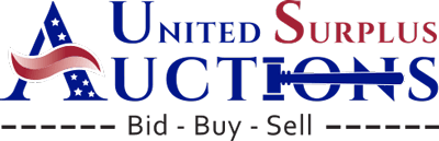 United Surplus Auction Logo